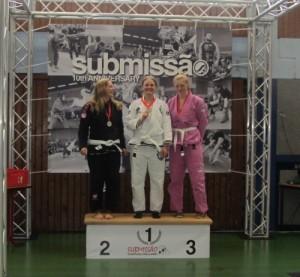 Claudia Kockmeier gewinnt die Submissao