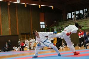 Karate Hessemeisterschaft 2017 Kumite 1