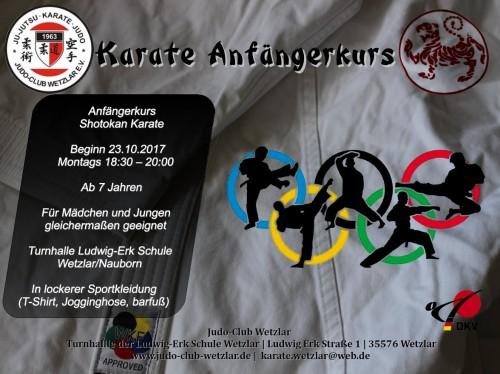 Karate Anfängerkurs 2017-2 Seite 1