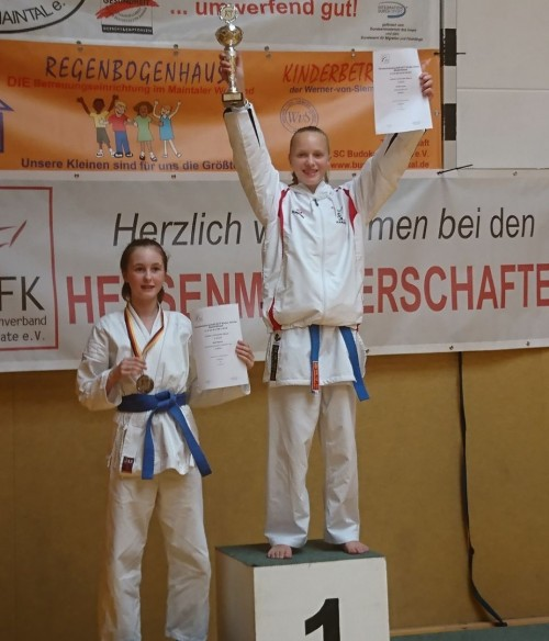 Karate Landesmeisterschaft 2017 Siegerehrung